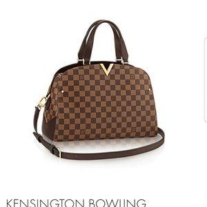 Authentic Louis Vuitton Kensington Bowling Damier